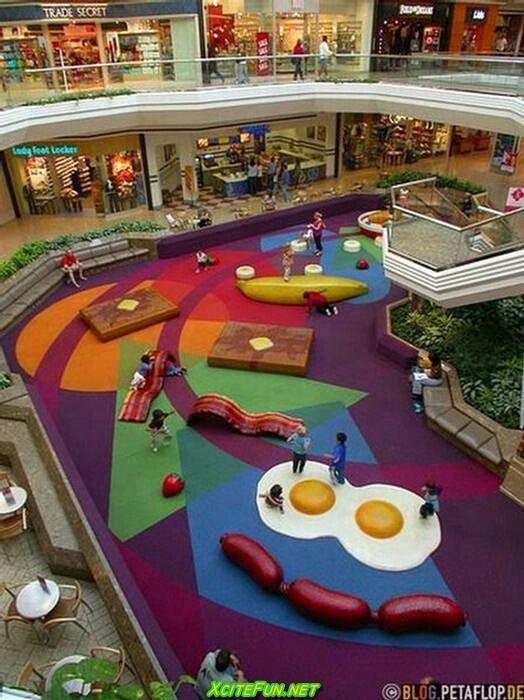 未来风格购物中心照片方案