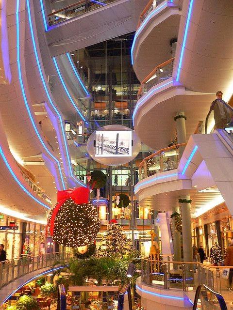 设计感购物中心灵感来源