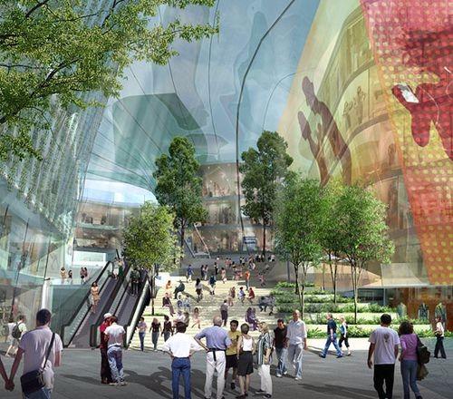 概念购物中心设计灵感