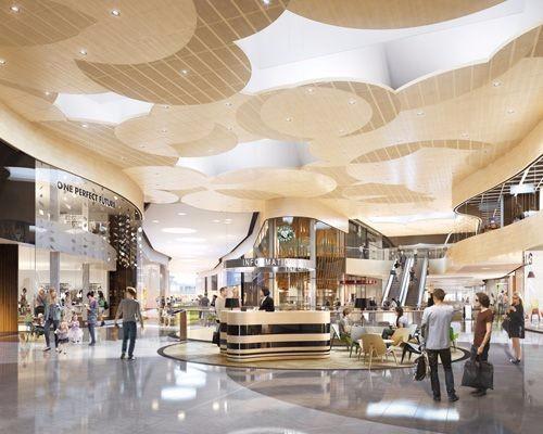漂亮的shopping mall参考