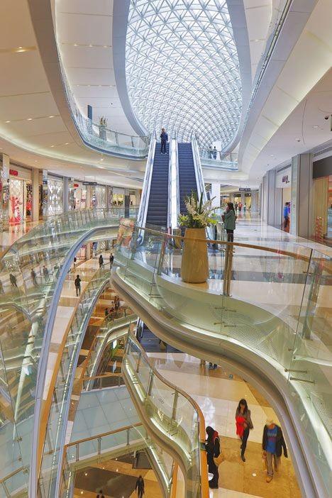 现代感商场设计灵感