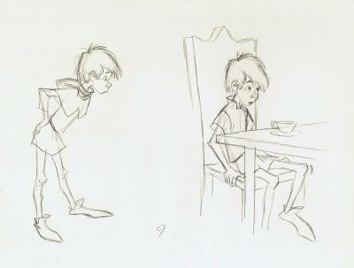 手绘漂亮的卡通形象角色参考图片