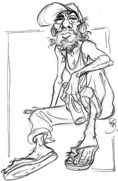 手绘可爱的卡通形象角色设计图片