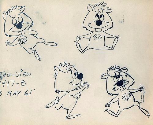 手绘可爱的卡通形象角色方案