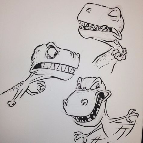 手绘可爱的卡通形象角色案例