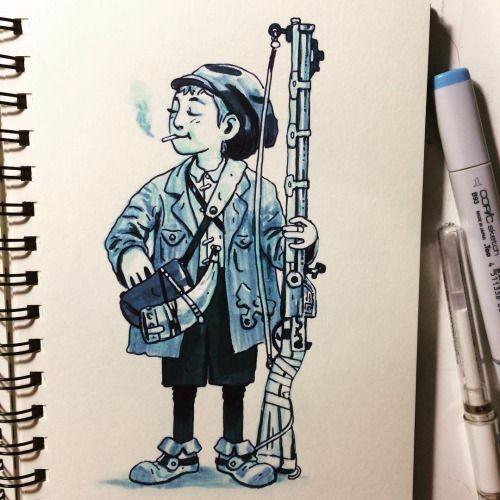 手绘可爱的卡通形象角色灵感来源