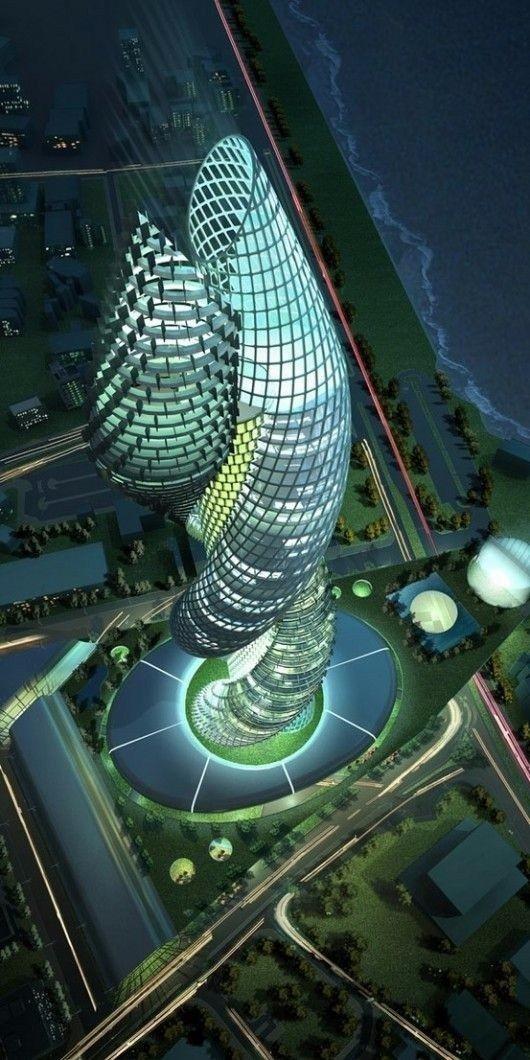 未来建筑设计图片