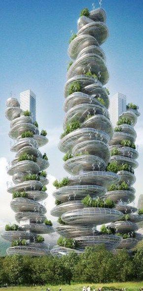 未来建筑设计好图