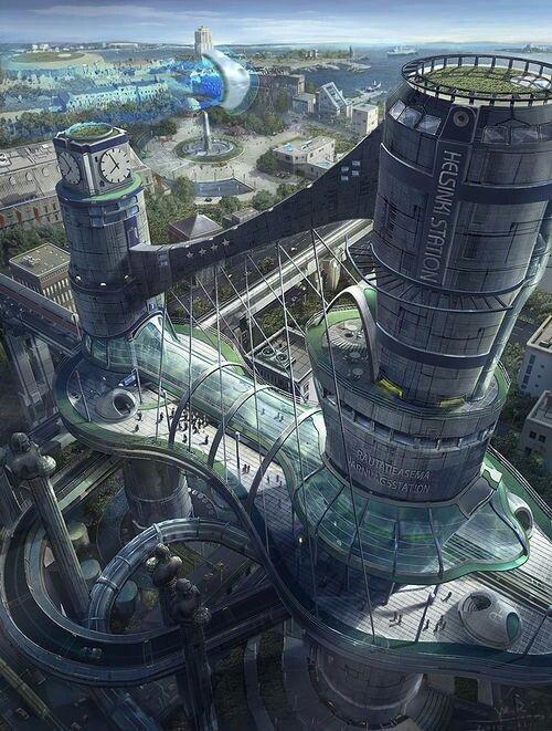 未来建筑设计高清图