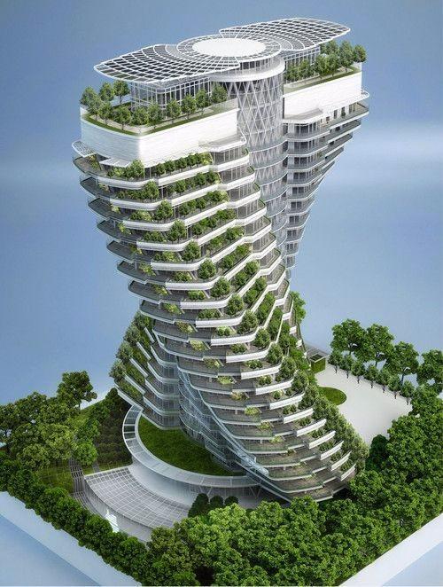 未来建筑设计图设计