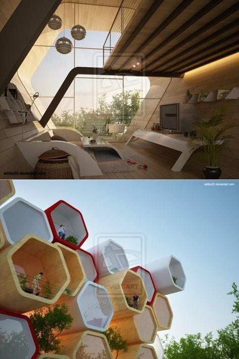 未来建筑图片 设计