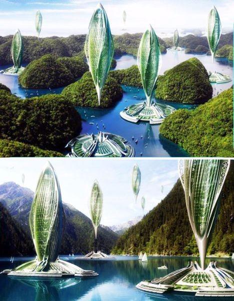 未来建筑设计图 设计