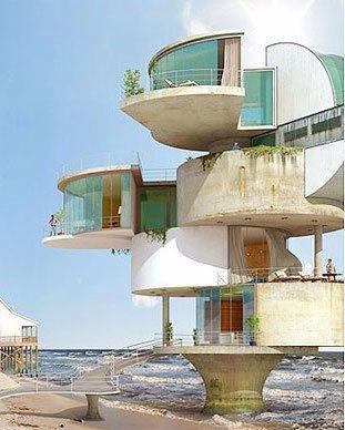 未来建筑搞图 设计