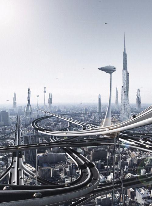 高清图 未来建筑