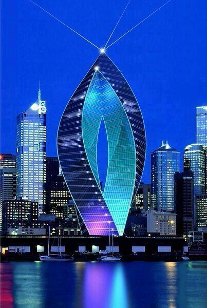 图片设计 未来建筑