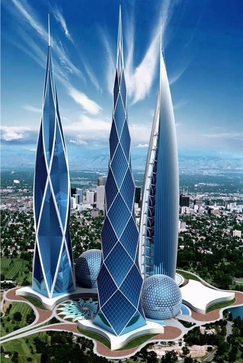 大全设计 未来建筑