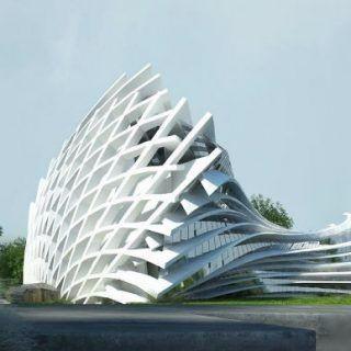 高清图设计 未来建筑
