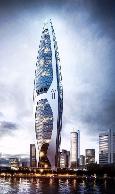 图片稿设计 未来建筑