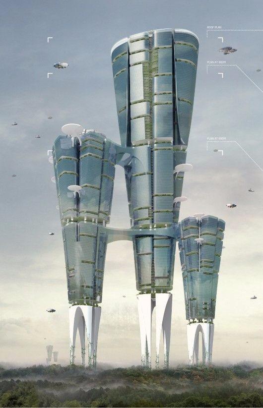 设计免费 未来建筑