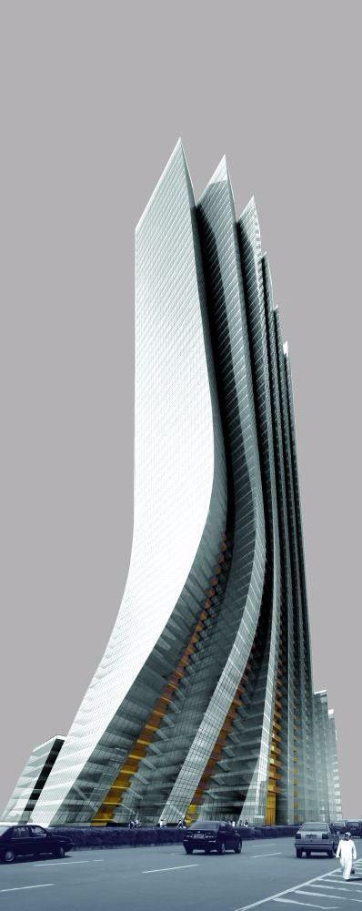 未来建筑 素材