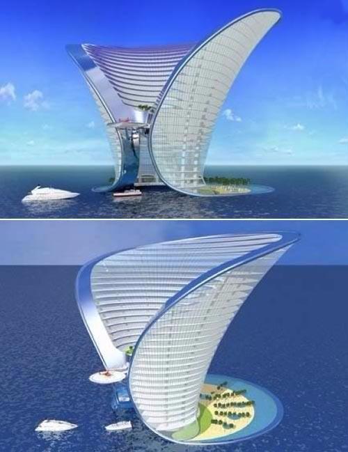 未来建筑 灵感图