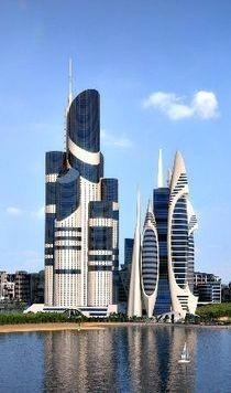 未来建筑 设计参考