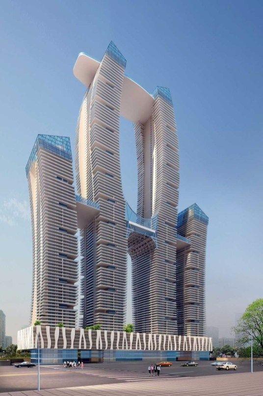 未来建筑 设计图设计