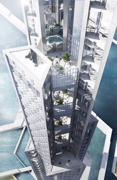 未来建筑 作品集设计