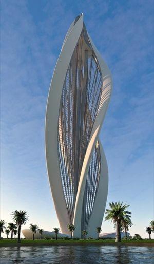 创意未来建筑设计素材