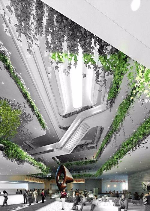 特色未来建筑图