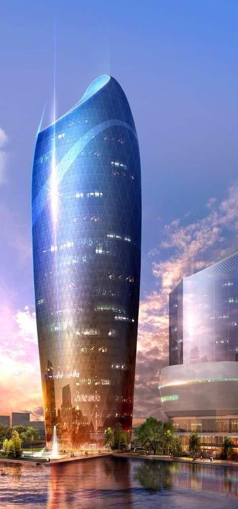 特色未来建筑效果国