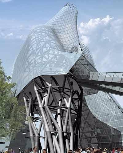 特色未来建筑设计图设计