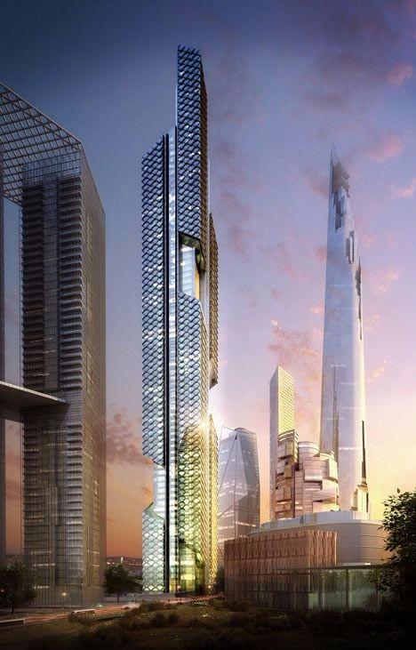 特色未来建筑图设计设计