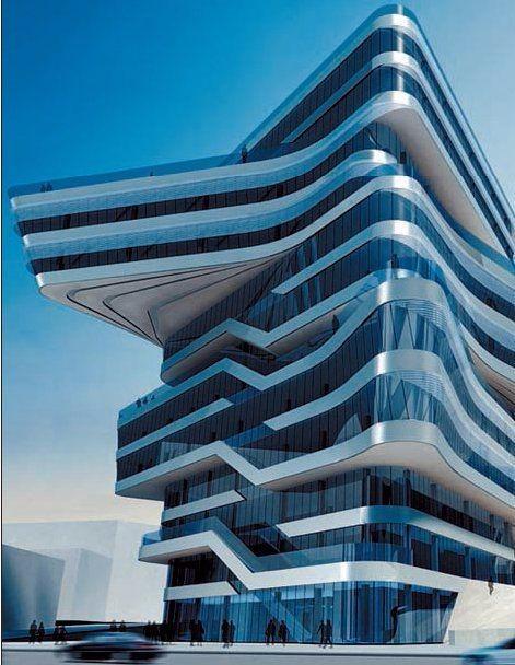 特色未来建筑图片稿设计
