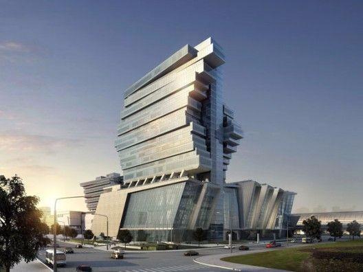 特色未来建筑高清图 设计