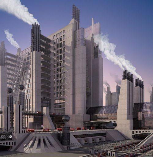 特色未来建筑设计免费