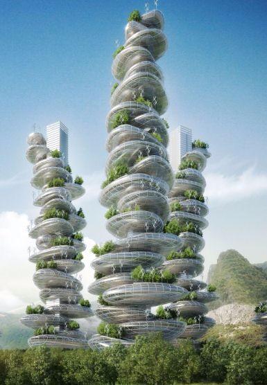 特色未来建筑设计 免费