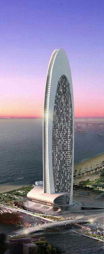 高端未来建筑设计图片稿