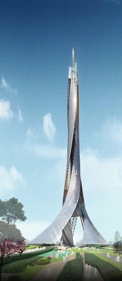 高端未来建筑参考设计