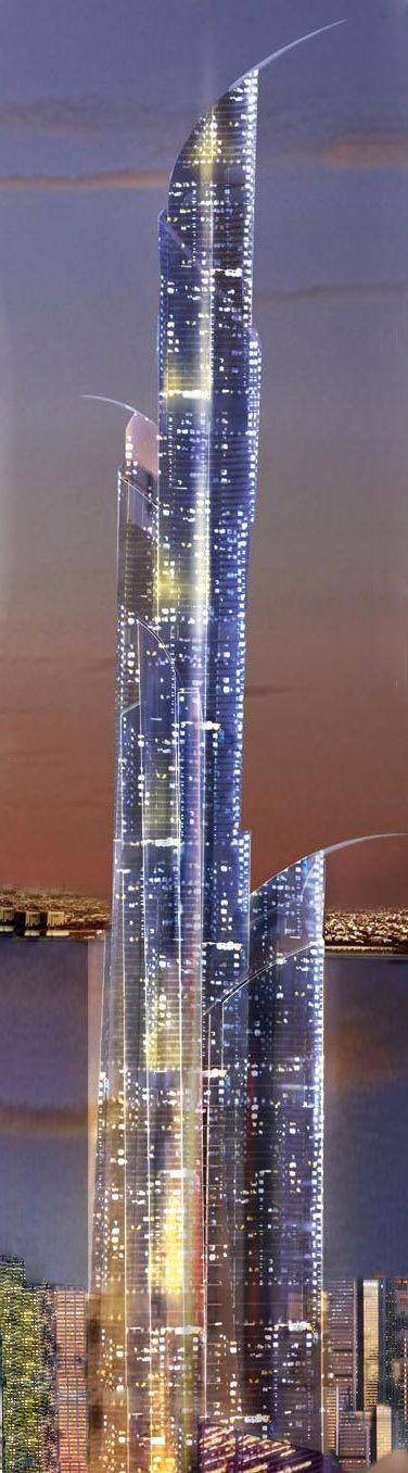 高端未来建筑素材设计