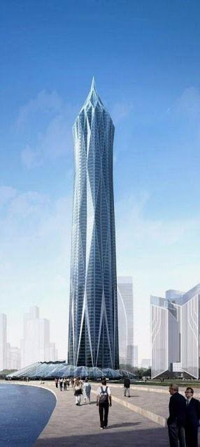 高端未来建筑图 设计