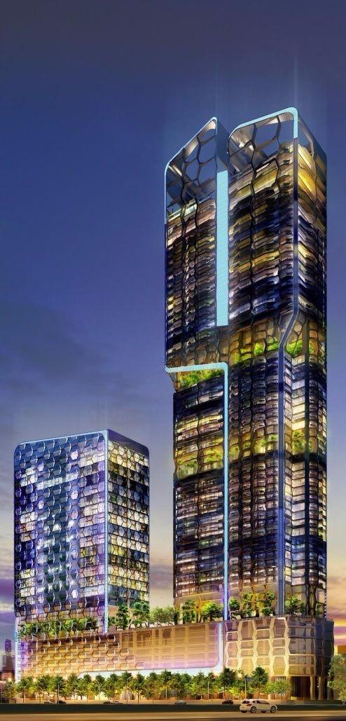 高端未来建筑好图 设计