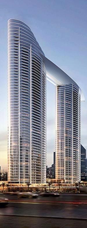 高端未来建筑制作 设计