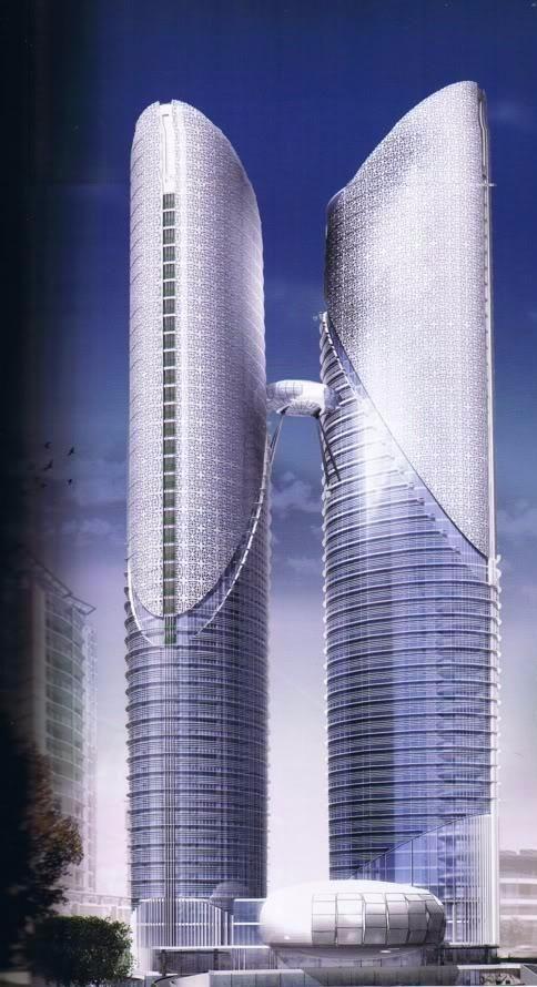 高端未来建筑设计图 设计
