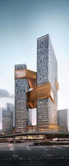 高端未来建筑图片稿 设计