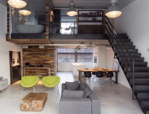 特色loft设计灵感图