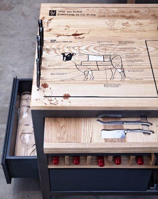 创意厨房室内素材