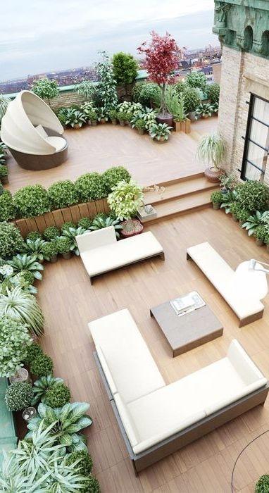 创意露台的装饰 设计