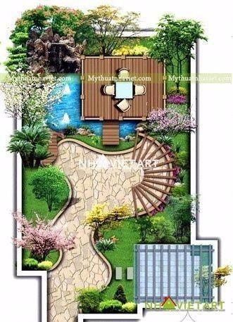 高端庭院装修 效果图