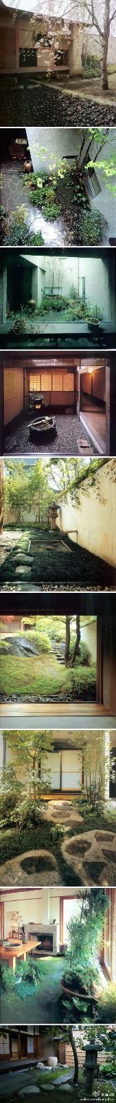 流行庭院图纸